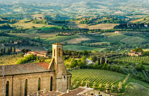 View From San Gimignano Tower - 67240224