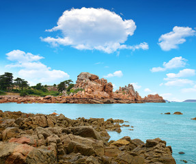 Ploumanach, Pink Granite Coast, Brittany, France