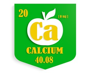 apple nutrition value description like chemistry element calcium