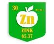 apple nutrition value description like chemistry element zink