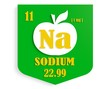 apple nutrition value description like chemistry element sodium