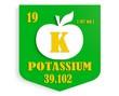 apple nutrition value description like chemistry element potassi