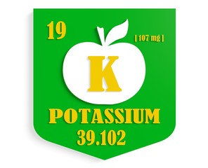 apple nutrition value description like chemistry element potassi
