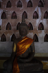 Buddha image at Wat Sraket