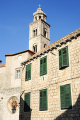 The dominican monastery at Dubrovnik