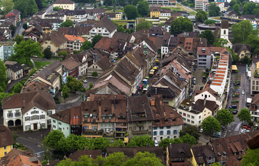 view of Lenzburg, Switzerland