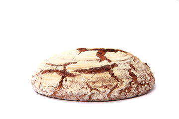 czech bread isolated