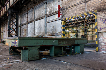 Fabrikrampe DDR
