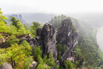 Rocks in Bastei