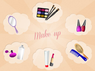 make up objects