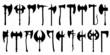 axe silhouettes - 67246214