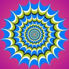 optical illusion flow tunnel