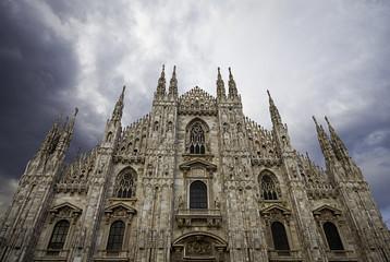 Duomo di Milano. Color image