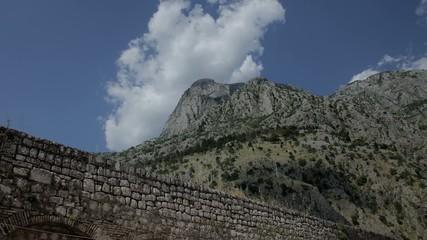 Old masonry Montenegro Timelapse,