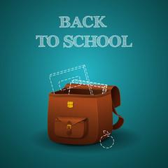 School briefcase