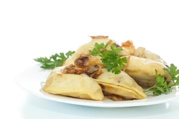 dumplings stuffed with