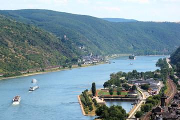Rhein bei Oberwesel - Bild 1