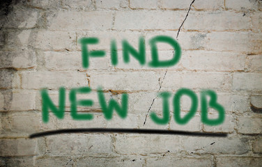 Find New Job Concept
