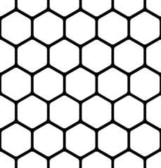 seamless pattern consists of a honeycomb
