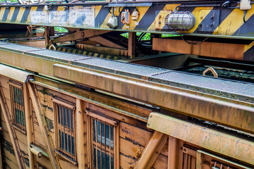DDR Güterzug Elektrowagen