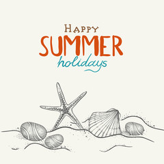 Summer Holidays background