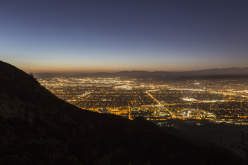 Burbank California Night
