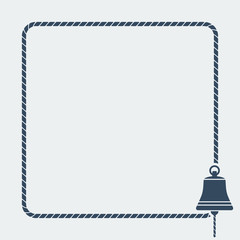 ship bell marine background