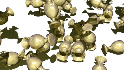 Golden vases multoply transition