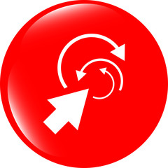 abstract arrow sign icon. Arrows symbol. Icon for App