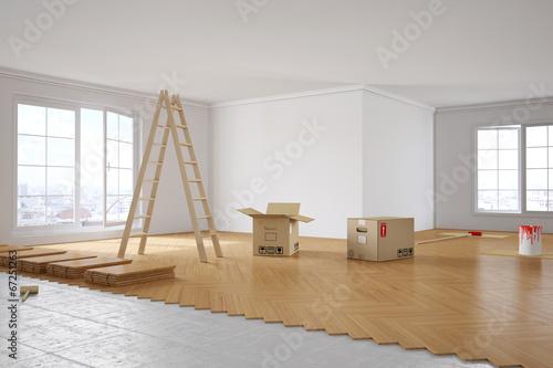 Renovierung von Zimmer in Wohnung - 67251263