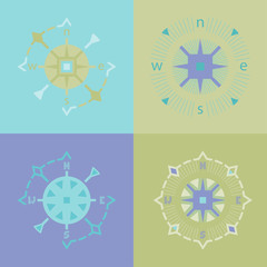 decorative compasses
