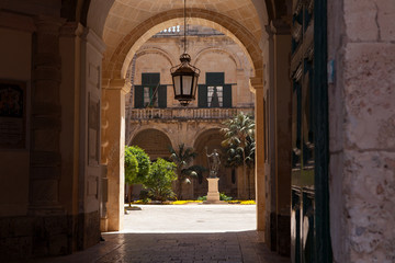 Grand Master's Palace Courtyard, Valletta, Malta