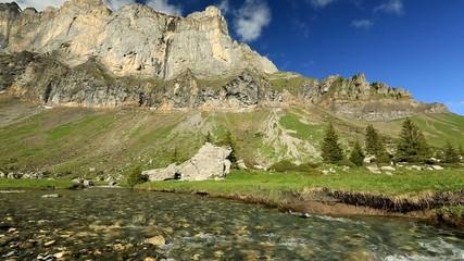 la montagne d'anterne FRANCE