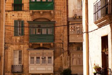 Valletta Balconies, Malta
