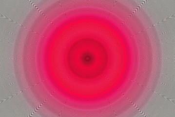Abstrakter pinker Kreis