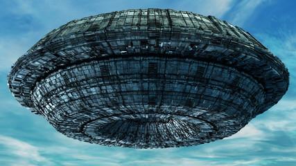 3D Alien UFO