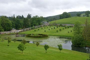 jardins du château de Blair