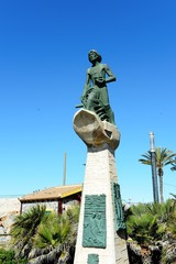Memorial to fishermen   in Torrevieja