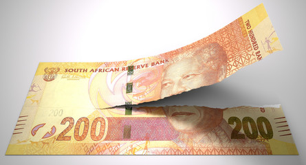 Tearing South African Rand