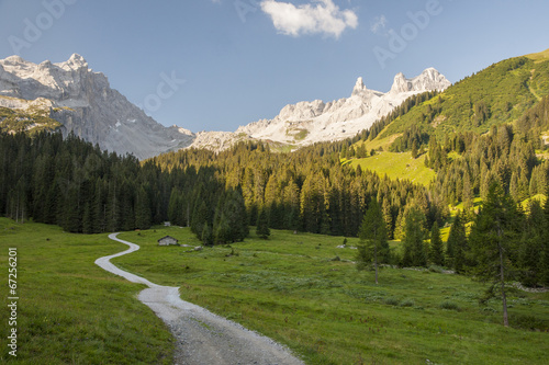 canvas print picture Bergwelt