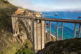 Historic Bixby Bridge, California coast - 67256499