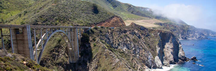 Bixby Bridge, California coast