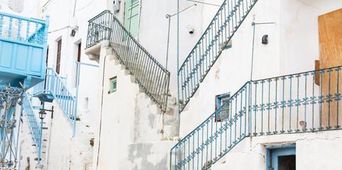 Treppen: typisch griechischer Baustil auf den Kykladen
