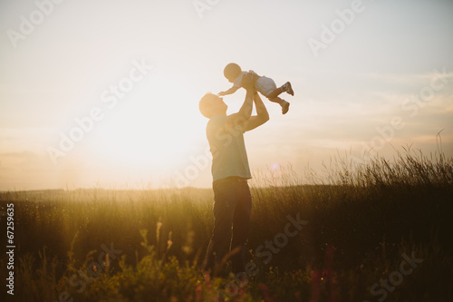 Father and child - 67259635