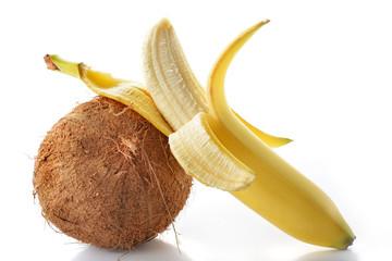 cocco e banana