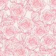Obrazy na płótnie, fototapety, zdjęcia, fotoobrazy drukowane : sketch roses