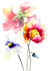 Original Summer flowers