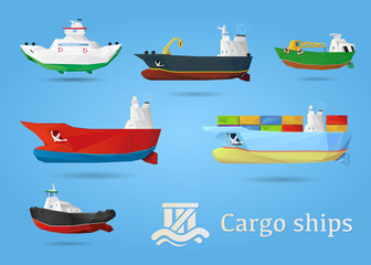 Ships - Cargo set transport