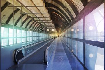 Madrid airport, Spain