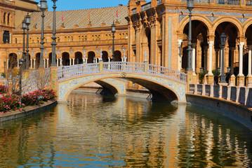 Bridges at Spain Square, Seville